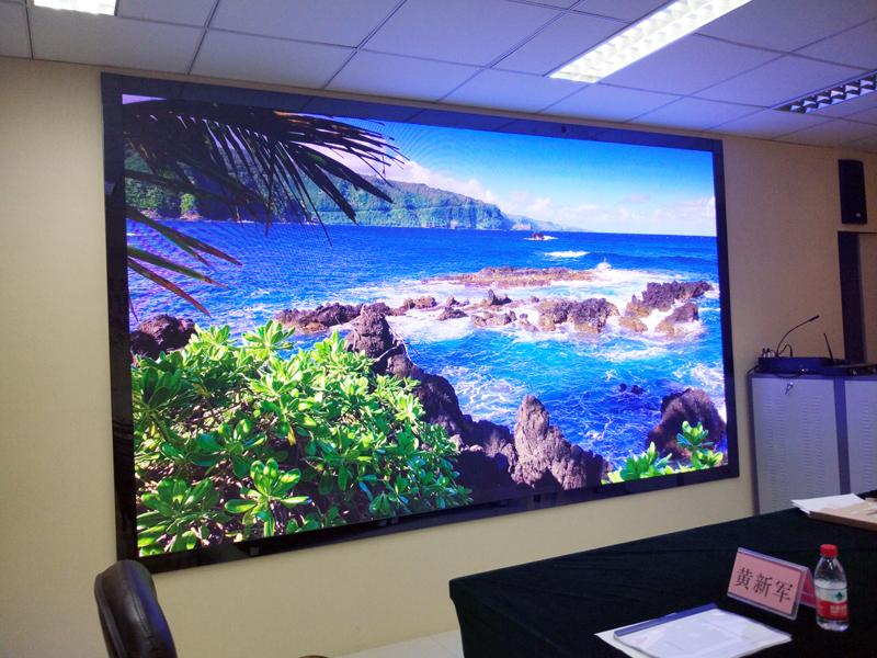 廣西地理信息中心小間距led顯示屏順利通過驗收圖片